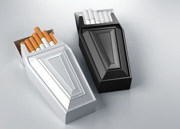 Antismoke pack by Raynolds and Reyner: Ideas, Anti Smoking, Creative, Package Design, Stuff, Packaging Design, Funny, Cigarette Case, Products
