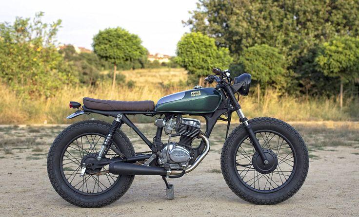 Custom CG 125cc by Pride Motor frmo Turkey
