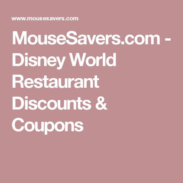 Disney World Gluten Free List