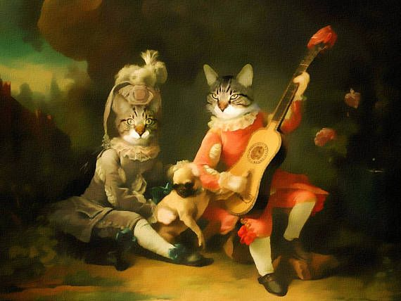 Pet портрет на заказ, Сustom животное портрет, Королевский костюм домашнее животное портрет, портрет собаки, изготовленный на заказ Vintage Regal Pet портрет, портрет на заказ