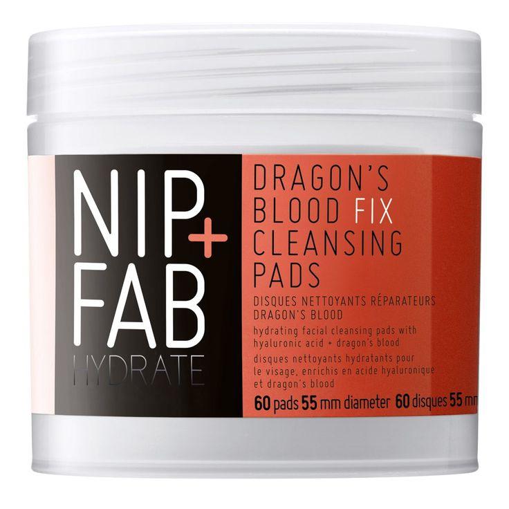 Nip+fab Dragons Blood Fix Cleansing Pads 60 pack