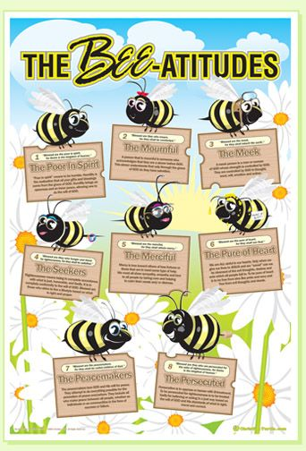 Christianturtle Com Quot Bee Attitudes Quot Poster So Cute