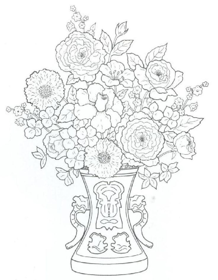 Flower Nook Coloring Book 19 Best Free Adult Pages Images On Pinterest