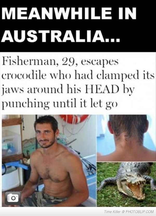 Meanwhile In Australia....
