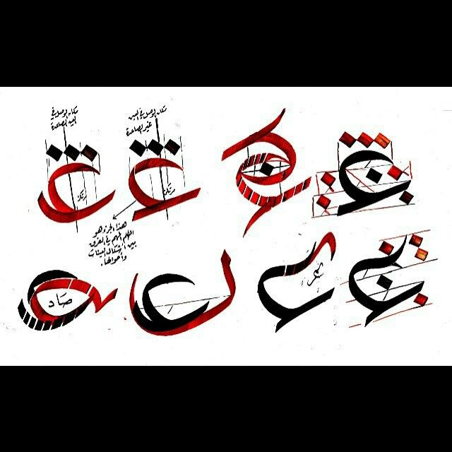 The letter ع (ain)