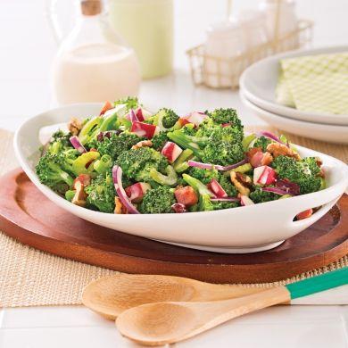 Salade de brocoli et pommes - Recettes - Cuisine et nutrition - Pratico Pratique