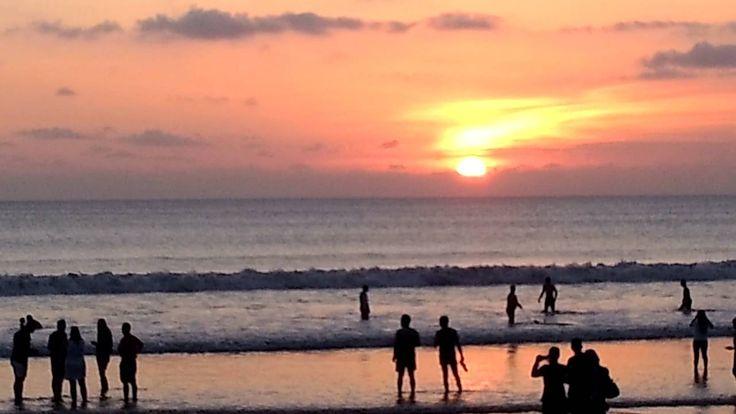Review Travel Guide: Sunset at Kuta Beach Bali