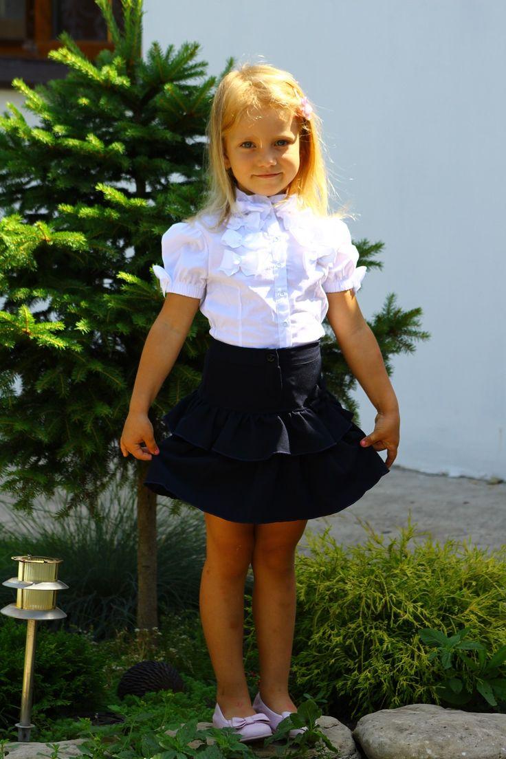 Блузка бантики продается со скидкой 10%. Размеры 116-122-128-134 Цвета малиновый , коралловый, бирюзовый , розовый  Опт от 150грн./ 1 шт.