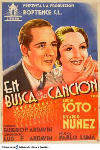En busca de una canción :: Cartells del Pavelló de la República (Universitat de Barcelona)