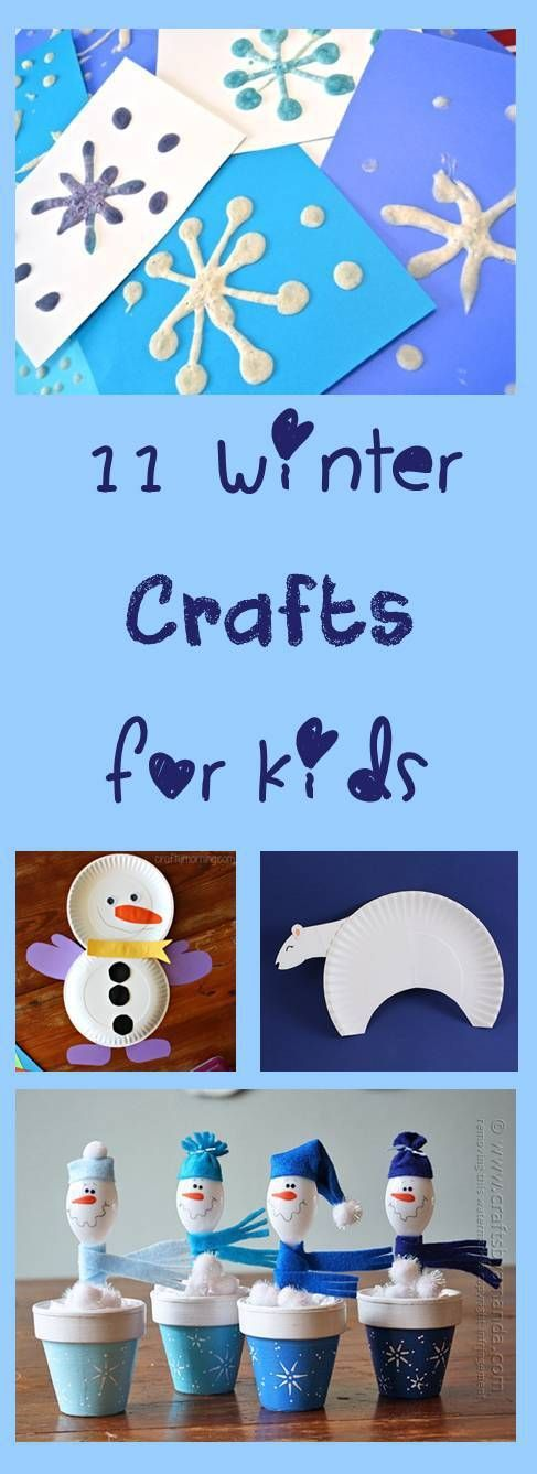 11 Winter Crafts for kids from Cheer and Cherry