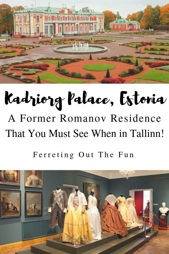 Kadriorg Palace: A Museum Fit for a Queen | Europe travel | Estonia