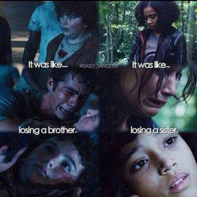 I cried more when Chuck died in The Maze Runner, if that doesn't make me look soulless.
