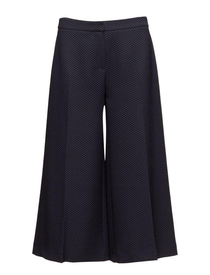 DAY - 2ND Widi Stretch fabric Chic Feminine Modern Culottes