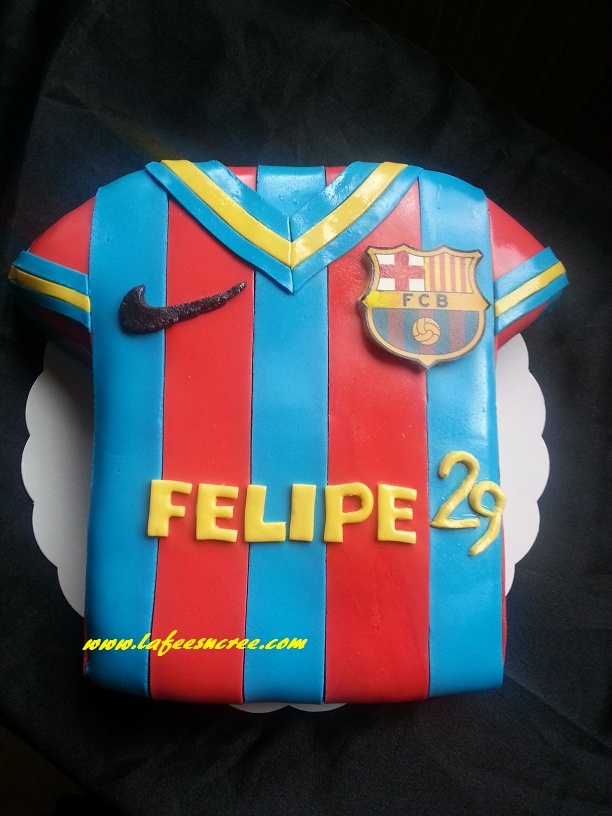 cake FC Barcelone  gâteau FC Barcelone