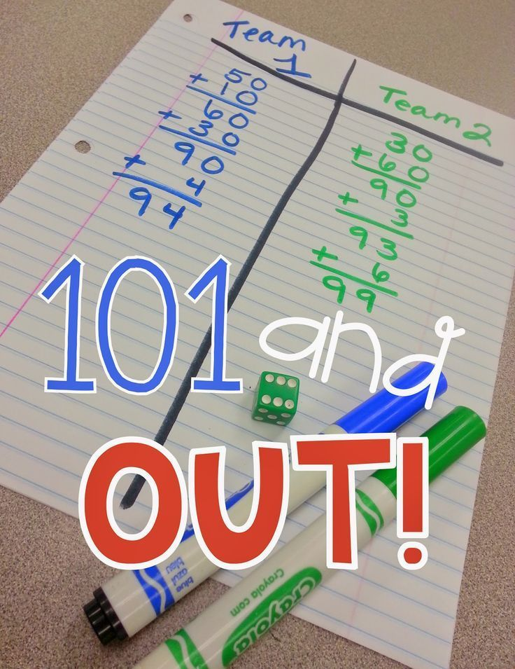 Learn how to play this and 4 other fun math games in this great post.