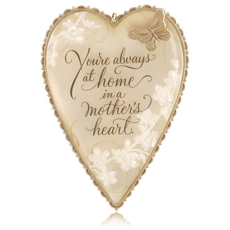 Hallmark QHX1097 A Mother's Heart Keepsake Ornament >>> New and awesome product awaits you, Read it now  : Ornaments Home Decor