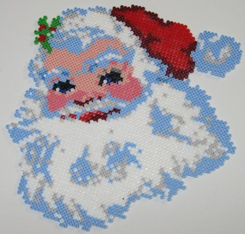 sandylandya@outlook.es Christmas Santa perler bead sprite by Tilas