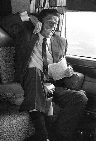 U.S.A. Ronald Reagan, California, 1966