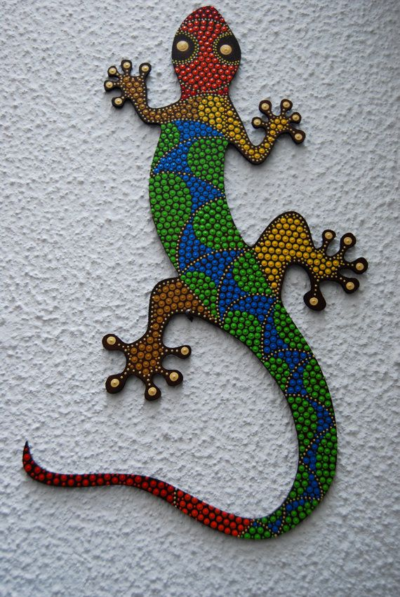 Lizard G-04 by Mandalaole on Etsy