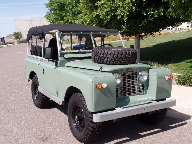 1965 Land Rover Series 2A Defender Series IIa. Photo via  Hemmings Motor News #Lease #LandRover #SimpleLease