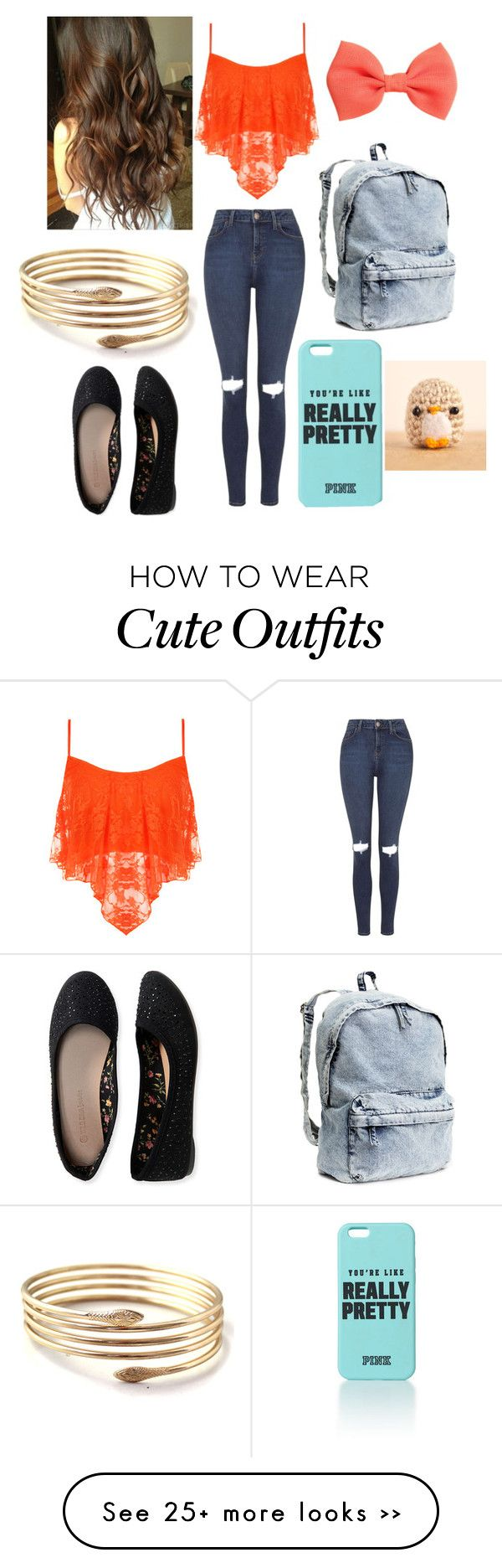"""""""School Outfit #1"""" by carmensweetlife on Polyvore featuring Topshop, WearAll, Aéropostale and H&M"""
