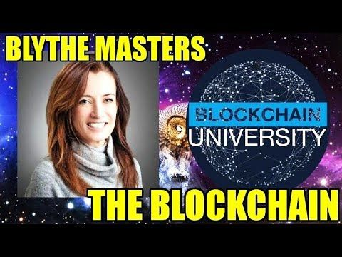 Blythe Masters - THE POWER BEHIND CRYPTOCURRENCY - The Blockchain (Bitco...