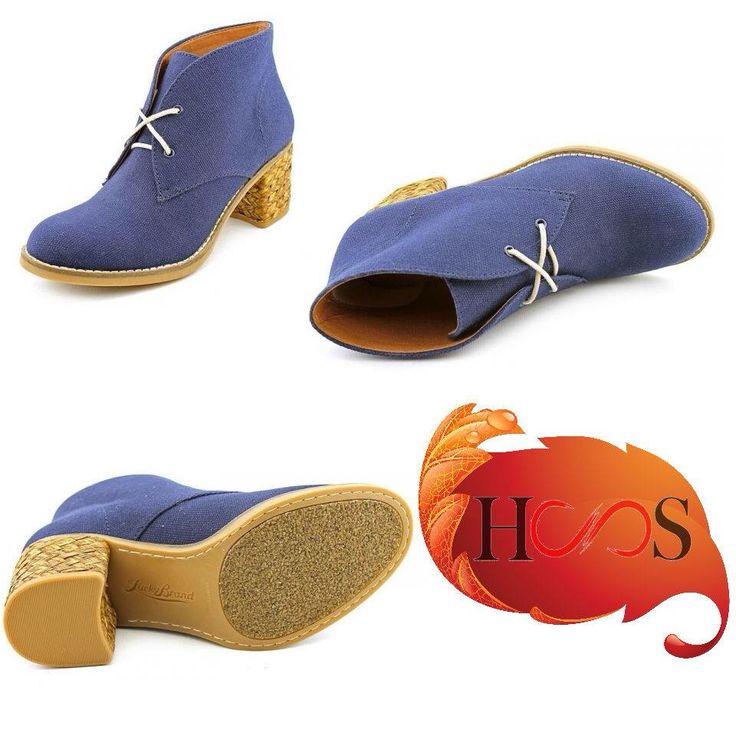 синие ботинки от LUCKY BRAND (знаю где можно приобрести)