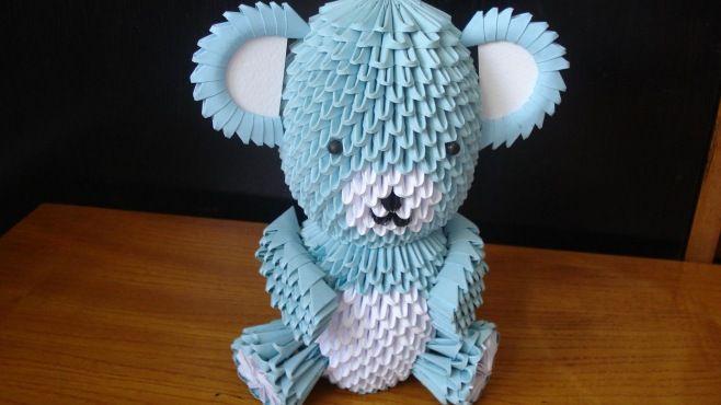 3D Origami Teknikleri - Oyuncak Ayı Teddy Tasarımı Bölüm 1 - Japon kağıt katlama sanatı (3D Origami) - teknikleri, örnekleri ve ipuçlarını videolu anlatımı. Kağıttan oyuncak ayı Teddy yapımı