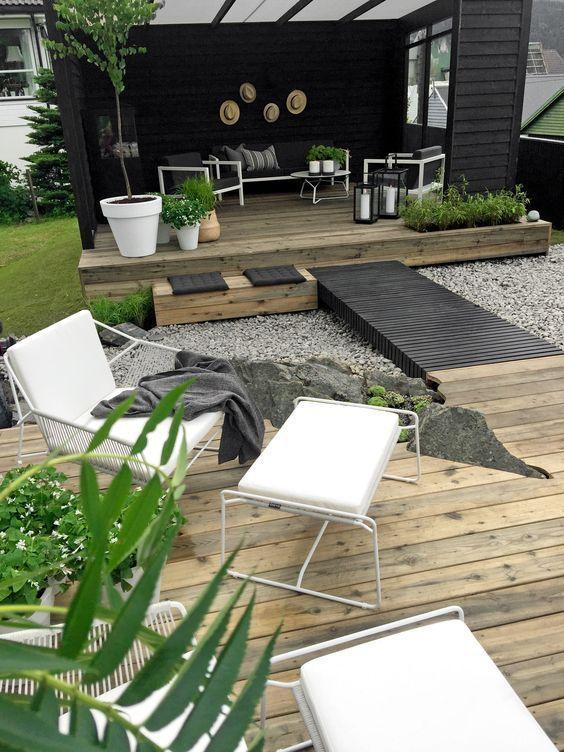 871 best Garten images on Pinterest Decks, Landscaping and - umgestaltung krautergarten dachterrasse