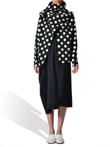 Smashing Black jacket with polka dots - by Adelina Ivan