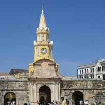 #La #torre #del #reloj además de ser el símbolo representativo de Cartagena es la entrada a la ciudad.