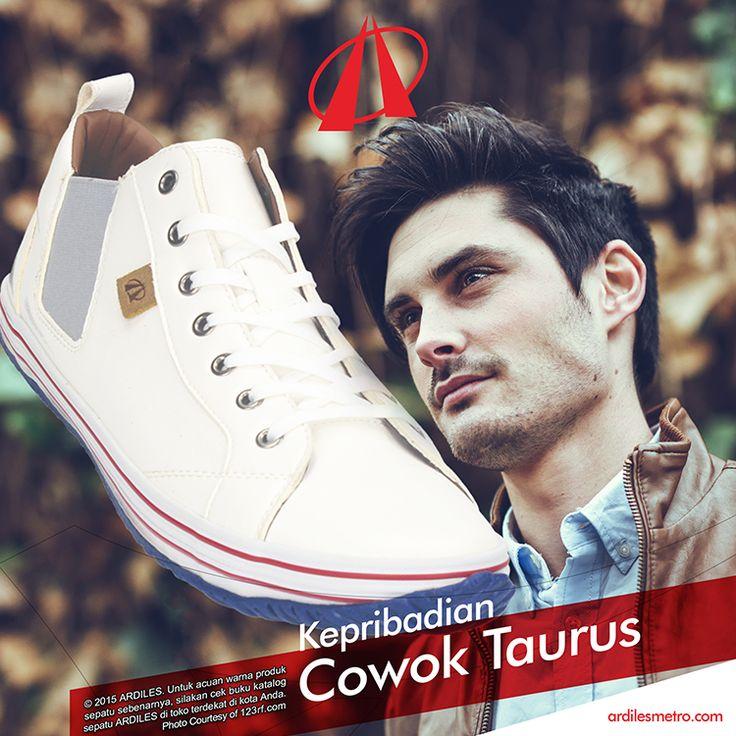 Cowok Taurus termasuk dalam cowok yang sangat fashionable. Sepatu yang nyaman dan fashionable seperti sneakers cocok dengan Taurus. Kalau belum punya sneakers yang cocok, yuk belanja di www.ardilesmetro.com.
