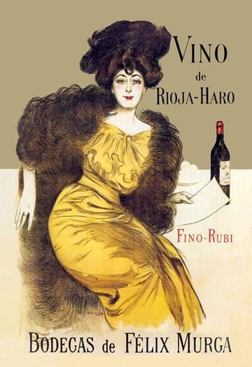 Vino de Rioja-Haro 12x18 Giclee on canvas