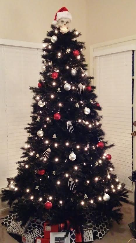 This tree IS a nightmare before Christmas. | 20 Awesome Christmas Tree Themes You'll Want To Steal