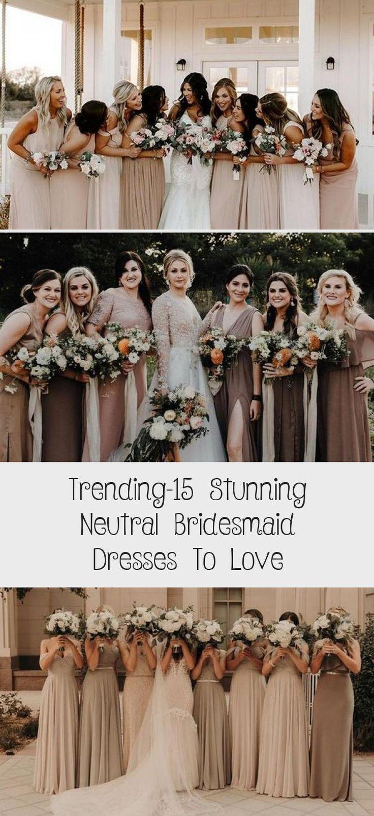 neutral champagne bridesmaid dresses #obde #weddingideas2019 #CheapBridesmaidDresses #BridesmaidDressesDustyRose #BridesmaidDressesTeaLength #BridesmaidDressesPastel #BridesmaidDressesWithSleeves