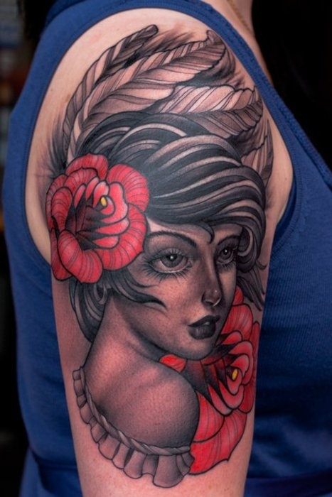 Tattoome Ff Blackgardentattoo By Chris Lennox A K A Crispy Black