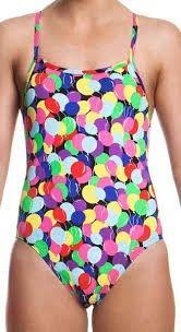 Funkita Birthday suit- Single strap dámské plavky