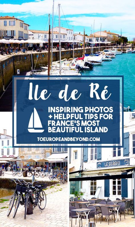 Little did I know that I would utterly, completely fall for Ile de Ré and that this teeny tiny island off La Rochelle would become one of my most precious happy places in the world. http://toeuropeandbeyond.com/things-to-do-in-ile-de-re/ #travel #France