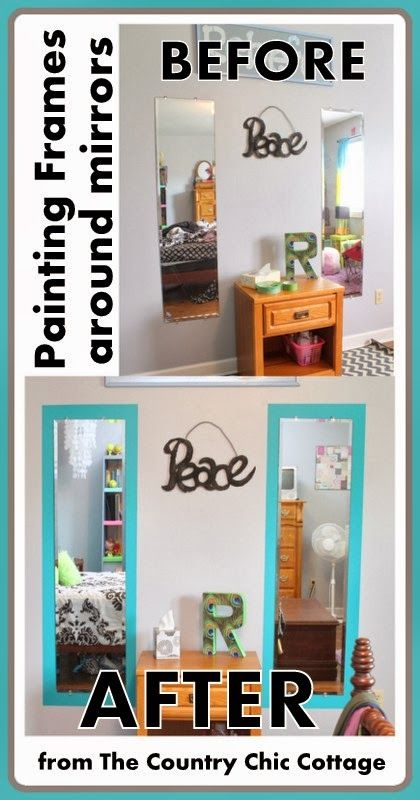 Best 25+ Cottage frameless mirrors ideas on Pinterest | Diy ...