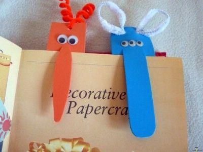 Kreatív ötletek gyerekeknek: Szörnyecske könyvjelző    http://www.hobbycenter.hu/Gyereksarok/kreativ-oetletek-gyereksarok-szoernyecske-koenyvjelz.html#axzz2LcbHEtGO