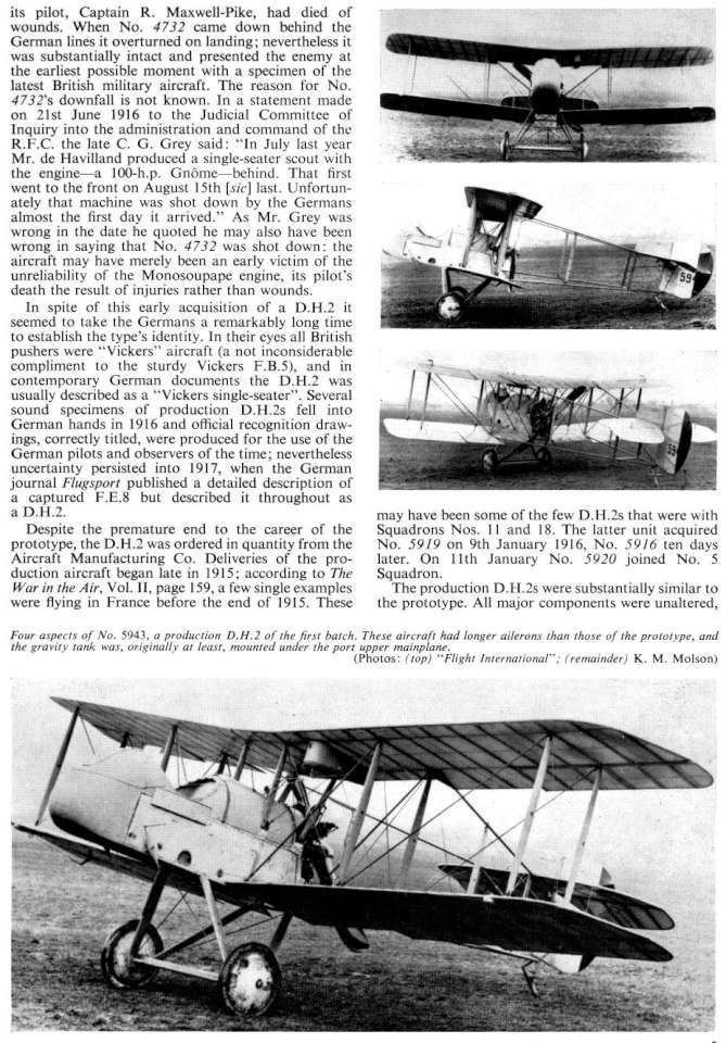 De Havilland DH2 (91) Page 05-960