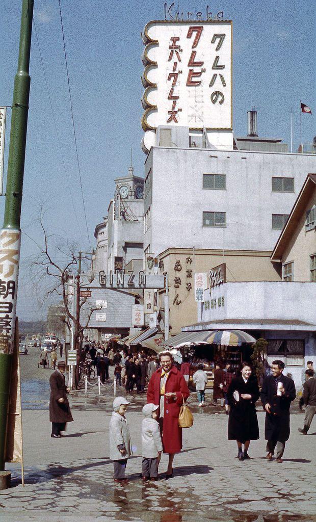 1960年代 Ginza Tokyo