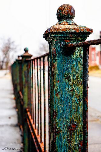 Abandoned Fence | by Jae at Wits End