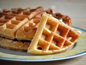 buttermilk waffles buttermilk recipes crispy waffle belgium waffles ...