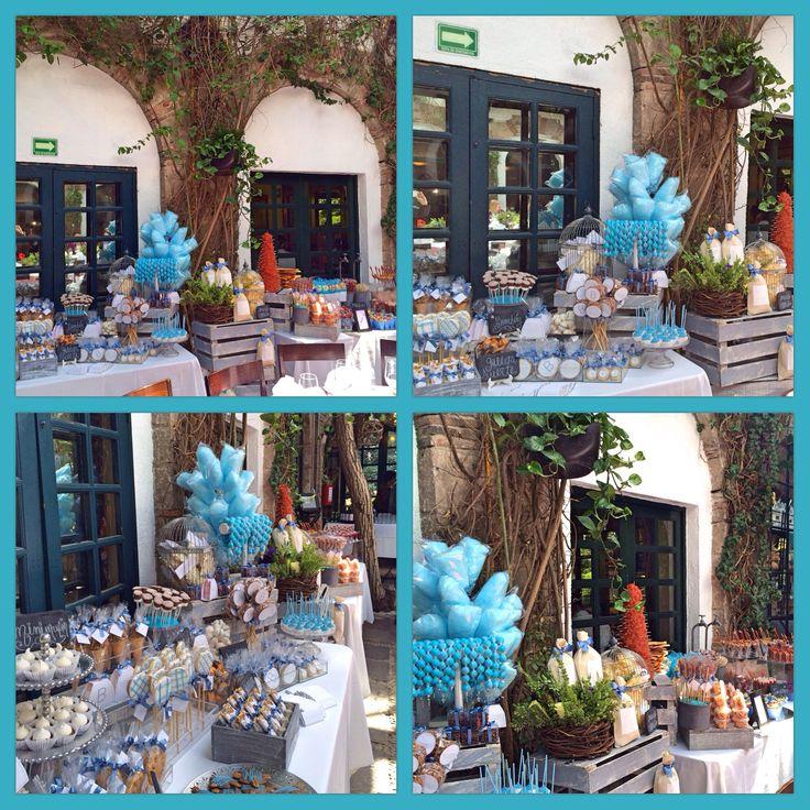 Mesa de Dulces para Bautizo!! Mesas vintage Pinterest