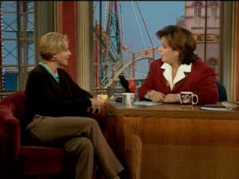 "A must watch 1996 clip of Ellen Degeneres revealing to Rosie that her character is ""Lebanese"". To which Rosie responds: ""Maybe I'm Lebanese!"""