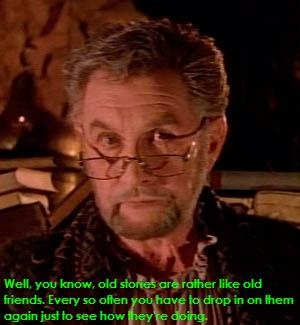 Roy Dotrice - in the Beauty and the Beast. The best narrator ever and a great actor!