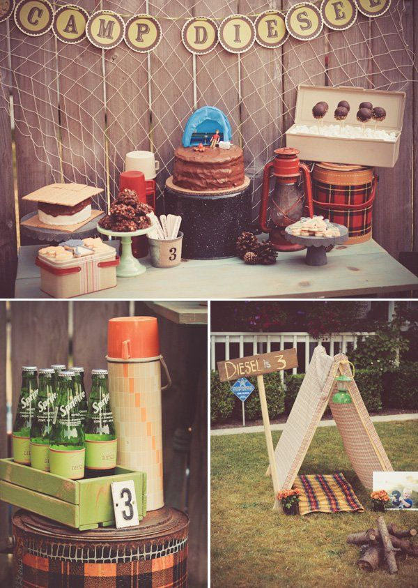 The 25 Best Backyard Camping Parties Ideas On Pinterest