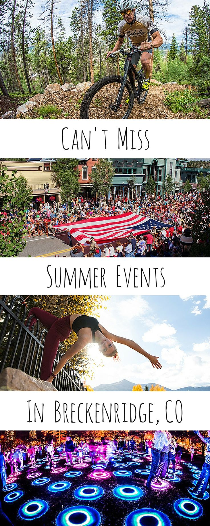 Breckenridge is home to some of the best festivals and events in the state of Colorado. There is so much to do and barley enough summer weekends to fit it all in.