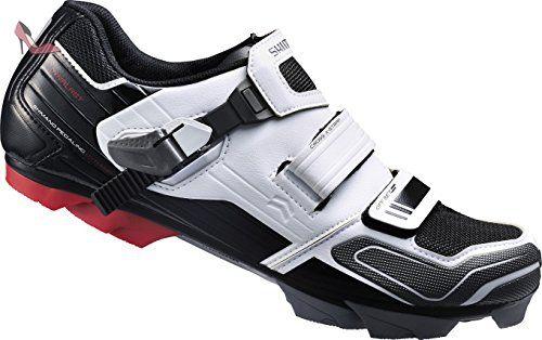Shimano Shxc51c460w, chaussures de cyclisme sur route mixte adulte, Blanc Cassé (White), 46 EU - Chaussures shimano (*Partner-Link)